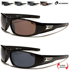 NEW OXIGEN DESIGNER MEN RECTANGLE BIKERS CYCLING SPORT SUNGLASSES UV FREE POUCH