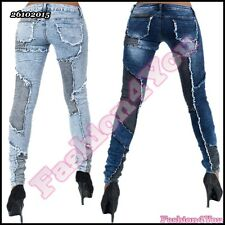 Sexy Womens Jeans Ladies Skinny Denim Jeans Trousers Size 6,8,10,12,14 UK