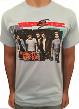 ONE DIRECTION BLUE T-Shirt Midnight Memories Top LOUIS ZAYN LIAM HARRY NIALL