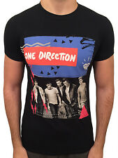 ONE DIRECTION T-Shirt Black Where We Are Tour Top. LOUIS ZAYN LIAM HARRY NIALL