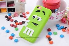 Green ) Latest 3D Cute Design Silicon Back Case Cover For Apple iPhone 5c