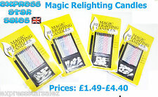 ✸ Magic Relighting Birthday Candles ✸10 Candlers per Pack ✸ FAST FREE DELIVERY!