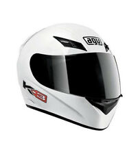 Agv - Casco integral AGV K-3 blanco brillo