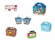 Christmas Treat Gift Loot Party Boxes