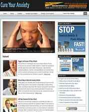 Cure Anxiety Turnkey Website For Sale Ready To Run Online Business