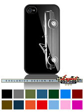 """BMW 325i Convertible E30 Serie 3 """"Profile"""" Phone Case iPhone and Samsung Galaxy"""