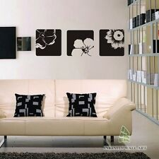 Stylish Flower Wall Art Stickers Flower Wall Decal Stickers Wall Graphics-- .D66