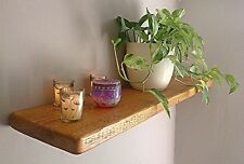 Rustic Pine Wood Floating Shelf/Shelves - Antique Pine Wax * FREE UK DELIVERY **