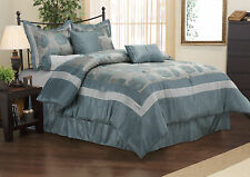 WESTERLY Comforter Set With Shams, Bed Skirt and Pillow, 7-Piece