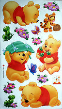 Winnie the Pooh Wall Decals Kids/ Baby Sticker Art