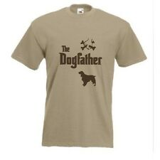 The Dogfather Springer Spaniel T-shirt Divertente Cane T-shirt fino a XXXL