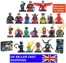Lego Superhero Minifigures & Custom Marvel Super Heroes Mini Figures Avengers