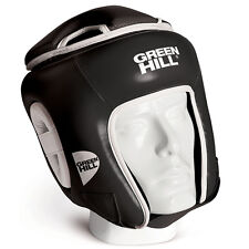 CASCO DA KICK BOXING GREEN HILL WIN NERO KICK BOXING HEAD GUARD CASCHETTO