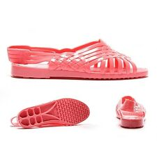 Womens JuJu Jellies Petre X-Sling Blush Sandals RRP £14.99