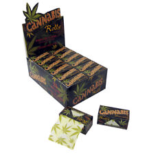Cannabis Leaf Pattern Hemp Flavoured Roll 5meter Cigarette Rolling Papers UK