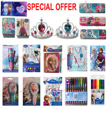 Disney Frozen Gift Packs  Stationery Elsa Anna Kids Activity Pens Pencils BRUSH