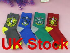 UK Harry Potter sock Purified Cotton embroidery GRYFFINDOR-SLYTHERIN-RAVENCLAW
