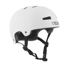 TSG EVOLUTION Solid Colors Skate Fahrrad Helm injected-white MTB BMX