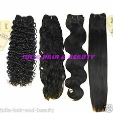 Brazilian Human Hair 100% Virgin Remy Hair Extension Weave Wave 105g Unprocessed