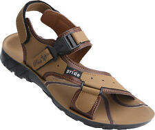 VKC Pride Men 3017 Tan Floater sandals, MRP: 329