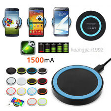Qi Wireless Charger Lade Pad Kabellose Ladegerät Für Smatphones Samsung iPhone
