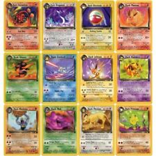 Pokemon Cards - Team Rocket Set - Common & Uncommon Cards - Choose