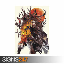 THE WITCHER 3 WILD HUNT GAME XBOX PS4 (1124)  Photo Poster Print Art * All Sizes