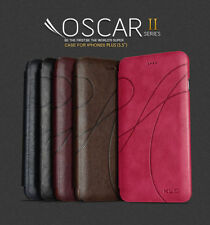 KLD® Oscar Smart Slim Wallet Flip Leather Case Cover for Apple iPhone 6 6s Plus