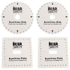 Beadsmith Kumihimo Round/Sqaure Braiding Disc With Instructions