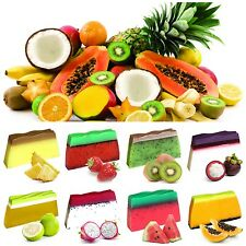 Tropical Paradise Soap Slices - 100g Bars UK Handmade Exotic Fruit Scented