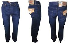 Jeans Levis 501 Red Tab Button Fly Taglia W 28 29 30 31 32 Diritto