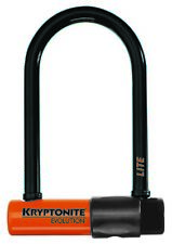 Kryptonite Lucchetto u lock evolution lite 7cm x 15,2cm nero antifurto