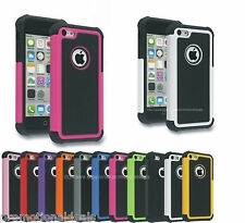 PREMIUM STYLE RUGGED Protective HARD BACK CASE COVER FOR Apple iPhone 5C