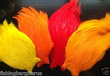 BUY 5 GET 1 FREE COCK CAPES NECK  FLY TYING FEATHERS  - BEST ON EBAY  29 COLOURS