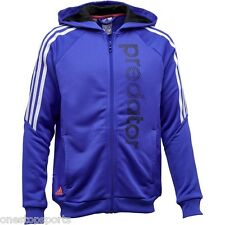 adidas boys Predator zip up football hoodie. Hoody. Various sizes!