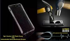 COMBO LED Flash Soft TPU Back Cover For Apple iPhone 6+Unbreakable Nano Membrane