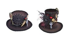 #VICTORIAN & EDWARDIAN STEAMPUNK TOP MINI HATS FANCY DRESS COSTUME ACCESSORY
