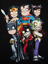 DC Comics T-shirt Batman, Harley Quinn, Joker, Wonder Woman, Superman, Catwoman