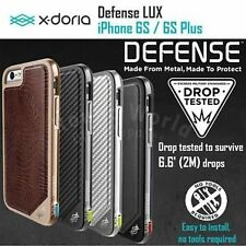 X-Doria Defense Lux Rugged Case with Aluminum Bumper Cover for iPhone 6/6s