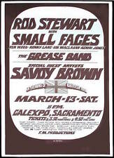 0429 Vintage Music Poster Art  Rod Stewart & The Small Faces  *FREE POSTERS