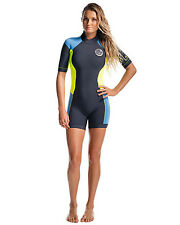 Rip Curl Dawn Patrol Shorty Ladies Wetsuit (2016) in Blue