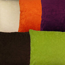 Crushed Velvet Cushion Covers Warm Luxury Soft Quality 45 X 45 CM 18 X 18""