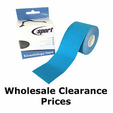 ISPORT KINESIOLOGY GYM SPORTS PHYSIO MUSCLE INJURY TAPING TAPE SUPPORT 5M X 5CM