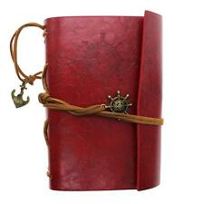 Classic Retro PU Leather Blank Diary Notebook Vintage String Journal Sketchbook