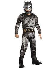 Child Deluxe Dawn of Justice Batman Armour V Superman Fancy Dress Costume