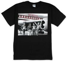 Led Zeppelin - Airplane T-Shirt Schwarz Neu Official Herren Mens