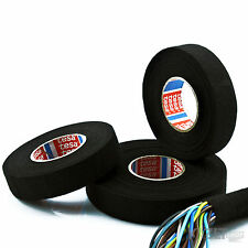 TESA TAPE 25m x 19mm 51608 ADHESIVE CLOTH FABRIC WIRING LOOM HARNESS VERY STRONG