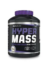(12,67€/1kg) BioTech USA Hyper Mass 5000 Vanille Weight Gainer Eiweiß 2270g