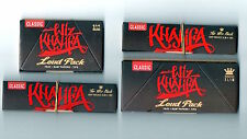 RAW WIZ KHALIFA Connoisseur King Size Papers Tips & Tray LOUD PACK +The Wiz Pack