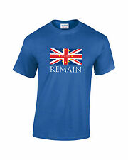 BREXIT IN Vote Remain Stronger In Europe Mens Funny Topical T-Shirt